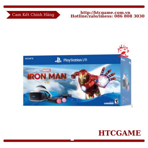 Bộ Kính Thực Tế Ảo PS VR V2 Iron Man Bundle Cho Máy PS5