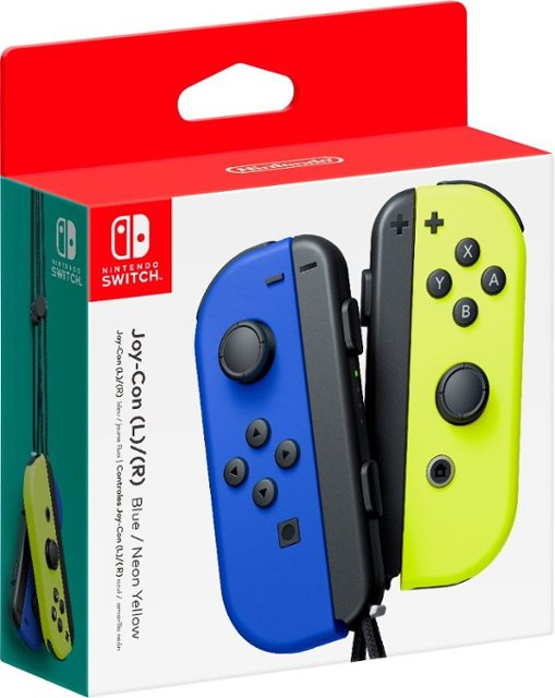 Bộ 2 tay cầm Joy-Con Blue/Neon Yellow  - Nintendo Switch