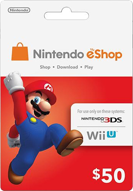 Thẻ Nintendo eShop Card 50$