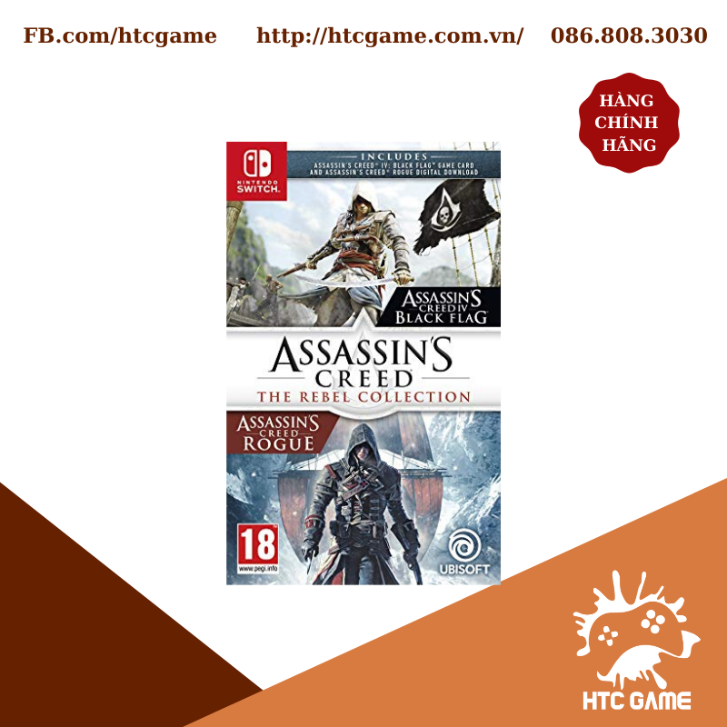 Assassin's Creed: The Rebel Collection - Game Nintendo Switch