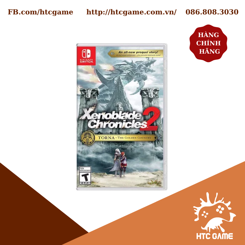 Xenoblade Chronicles 2 Torna The Golden Country - Nintendo Switch