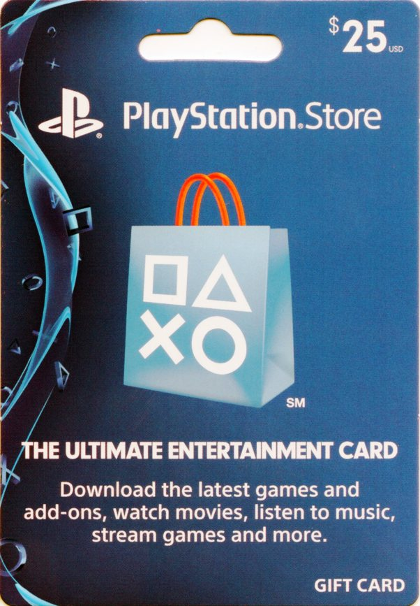 PSN Card 25$ US
