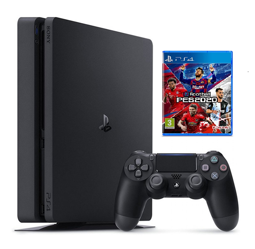 Máy PS4 Slim 1TB + PES 20 Asia Digital