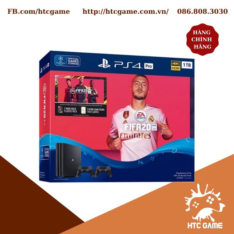 Máy PS4 PRO 4K 1TB 2 TAY CẦM FIFA 20 Bundle