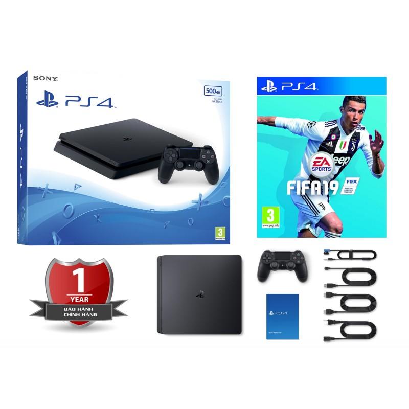 Máy PS4 Slim 1TB + FIFA19