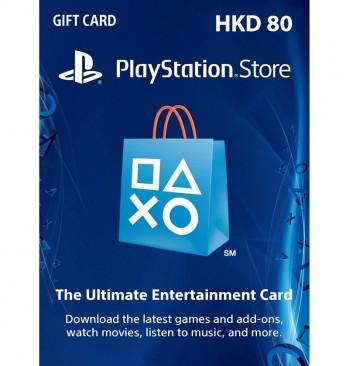 PSN card 80$ HK