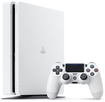 Máy PS4 Slim 1TB/ Trắng 99% Like new