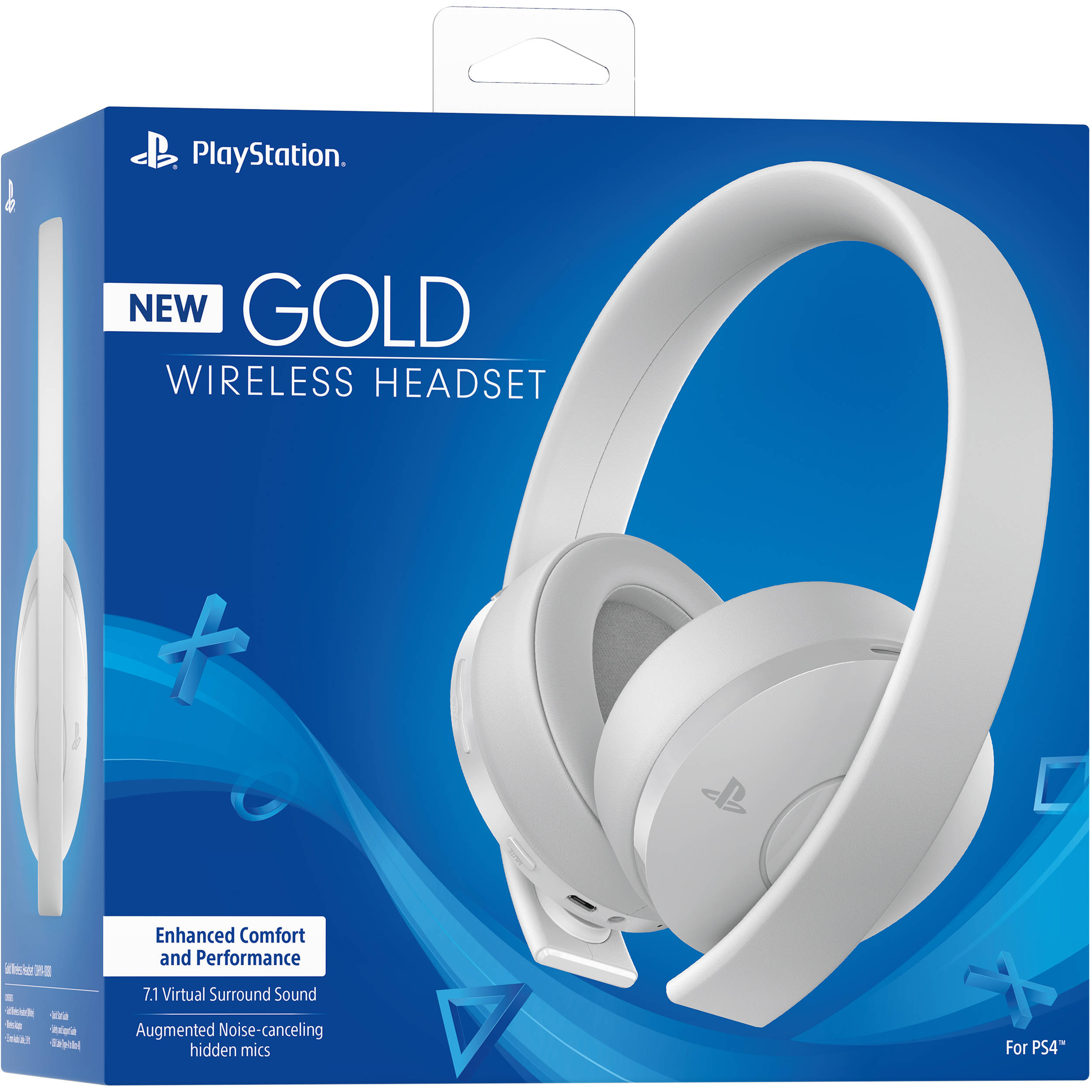 Tai Nghe Ps4 Gold Wireless Headset 7.1 Sony PlayStation (Like new)