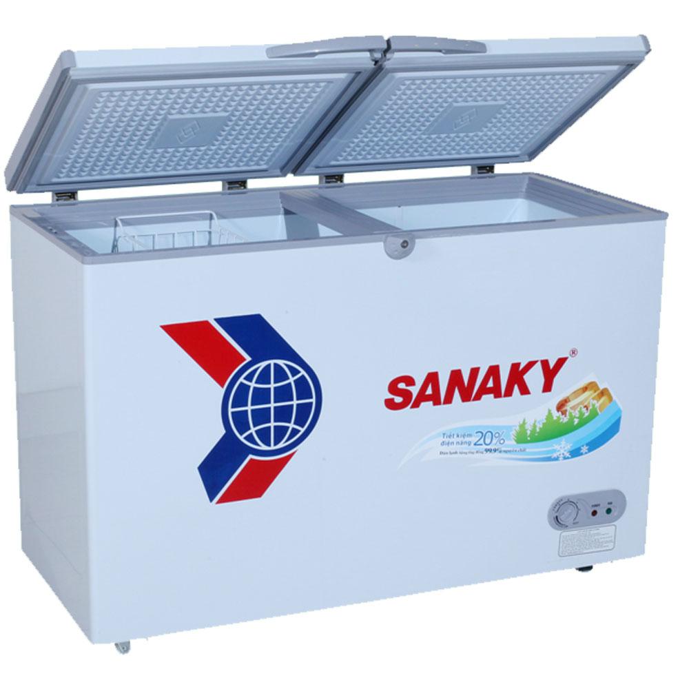 Tủ đông Sanaky VH-5699HY 1 ngăn đông, 2 cánh, dàn đồng tồn tại