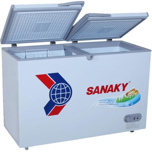 Tủ đông dàn đồng Sanaky VH-3699A1, 1 ngăn đông, 2 cánh tồn tại