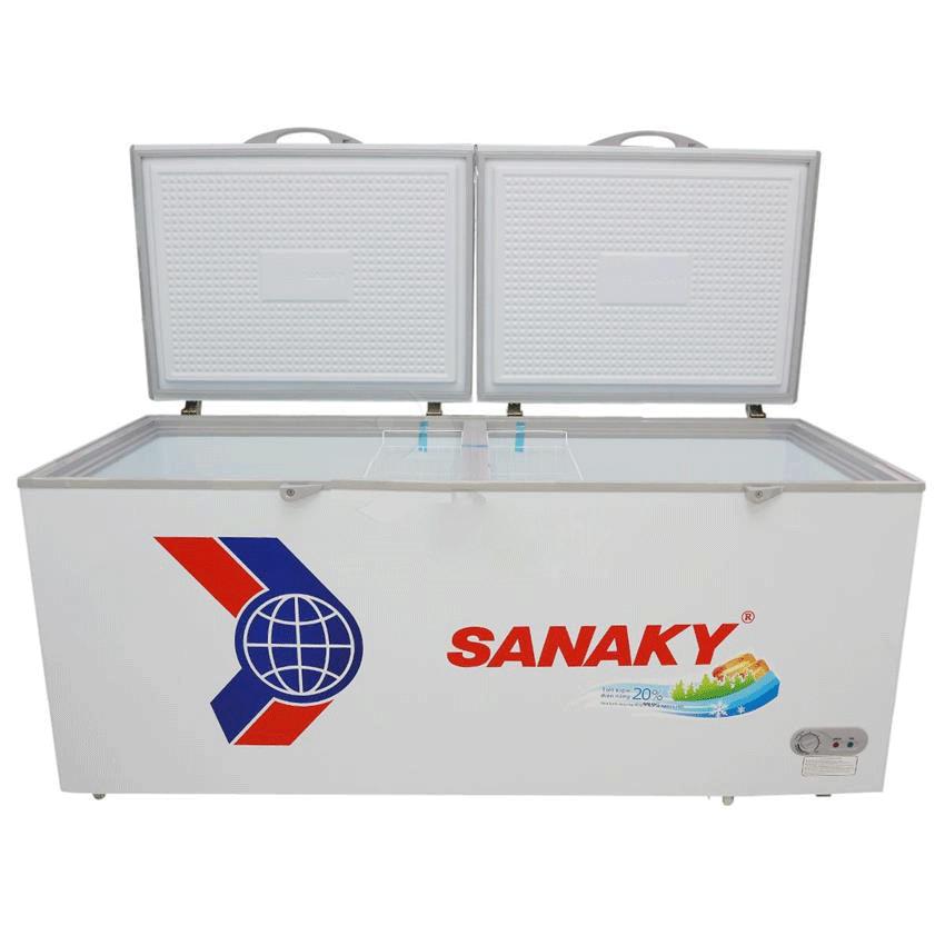 Tủ đông dàn đồng Sanaky VH-8699HY 1 ngăn đông, 2 cánh tồn tại