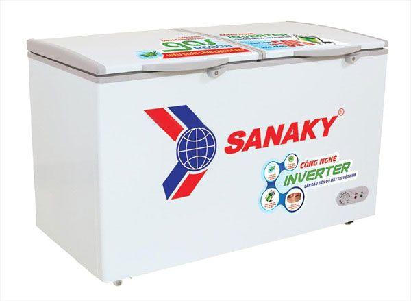 Tủ đông Sanaky Dàn đồng inverter VH-5699HY3 1 ngăn đông tồn tại