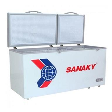 Tủ đông dàn đồng Sanaky VH-6699W1 2 ngăn đông/mát, 2 cánh tồn tại