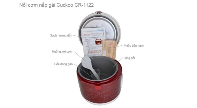 NỒI CƠM ĐIỆN CUCKOO CR-1122 2.0LÍT