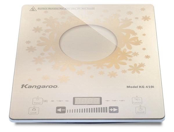 Bếp Điện Từ Đơn siêu mỏng  Kangaroo KG419i tt