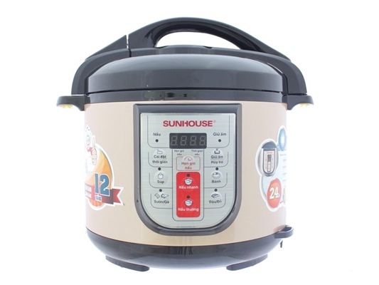 Nồi áp suất điện Sunhouse SHD 1758 5 lít