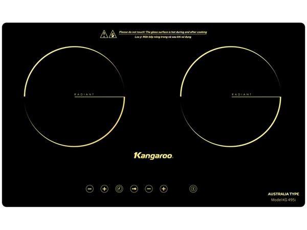 Bếp 2 Hồng ngoại Kangaroo KG495i tt