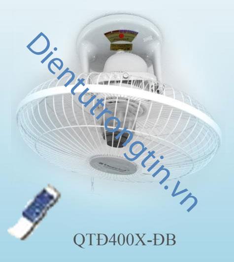 Quạt đảo trần vinawind có khiển QTD400X-DB