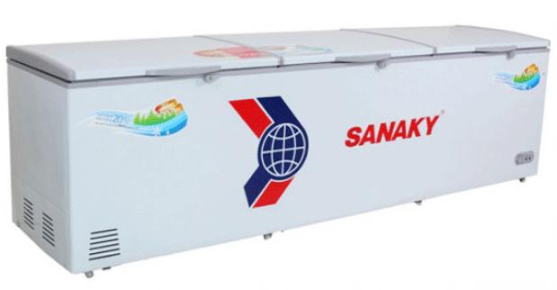 Tủ đông dàn đồng Sanaky VH-1399HY 1 ngăn đông 3 cánh có khóa tồn tại