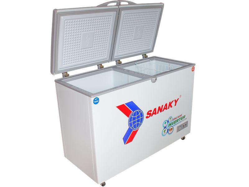 Tủ đông Sanaky Inveter VH-4099A3 dàn đồng loại 1 ngăn đông tồn tại