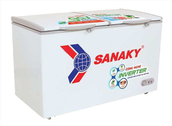 Tủ đông Sanaky Inveter VH-2599A3 dàn đồng loại 1 ngăn đông tồn tại