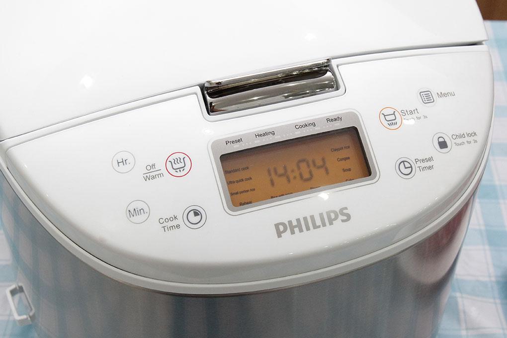 Nồi cơm điện tử Philips HD3077