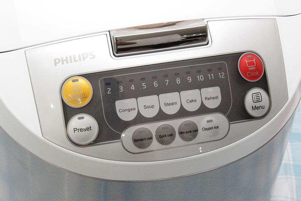 Nồi cơm điện tử Philips HD3038