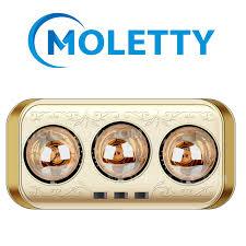 ĐÈN SƯỞI NHÀ TẮM MOLLETTY M-3H 3 BÓNG