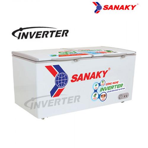 Tủ đông Sanaky Dàn đồng inverter VH 6699HY3 1 ngăn đông tồn tại