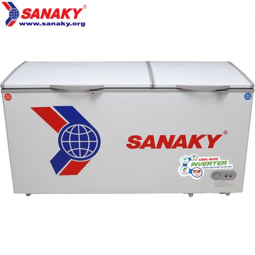 Tủ đông Sanaky Dàn đồng inverter VH-6699W3 2 ngăn đông/mát tồn tại