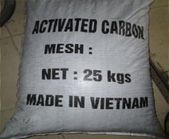 Than hoạt tính lọc khí dạng viên, xử lý nước thải 2-4cm