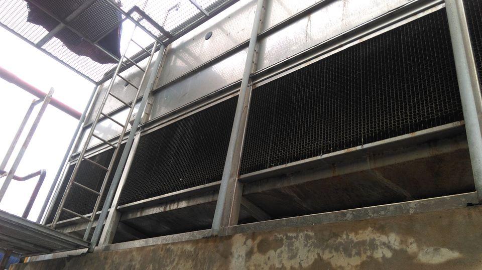Để việc vệ sinh cơ học Cooling tower đạt hiệu quả cao nhất