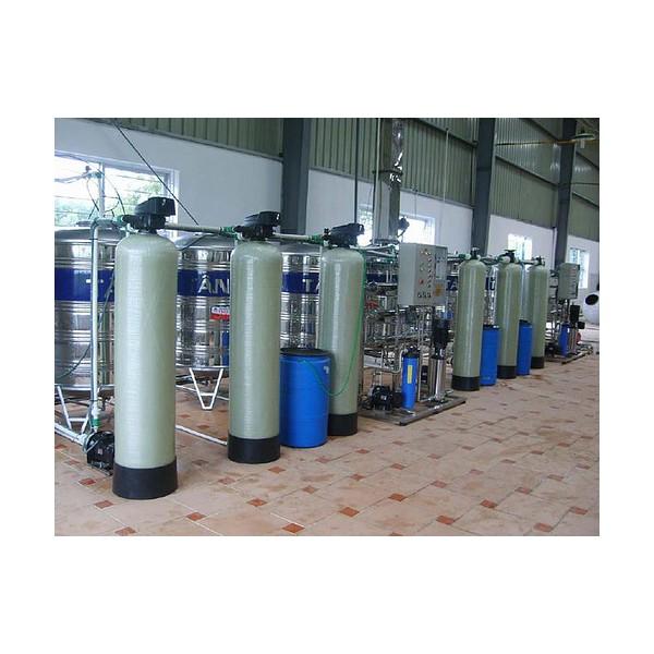 Hệ thống làm mềm nước cấp cho lò hơi và tháp giải nhiệt