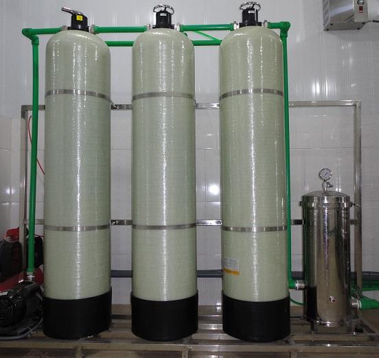 Hệ thống làm mềm nước cấp nồi hơi, tháp giải nhiệt, lọc nước RO