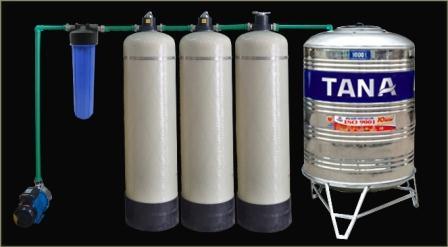 Hệ thống xử lý nước giếng sinh hoạt gia đình