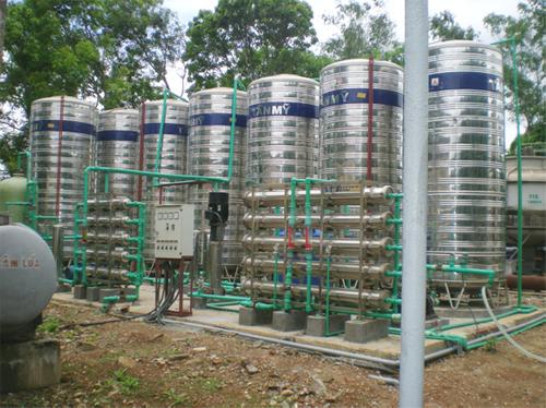 Dây chuyền lọc nước tinh khiết 10m3/h