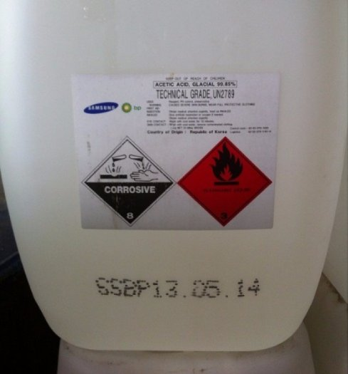 Hóa chất Axit axetic –CH3COOH