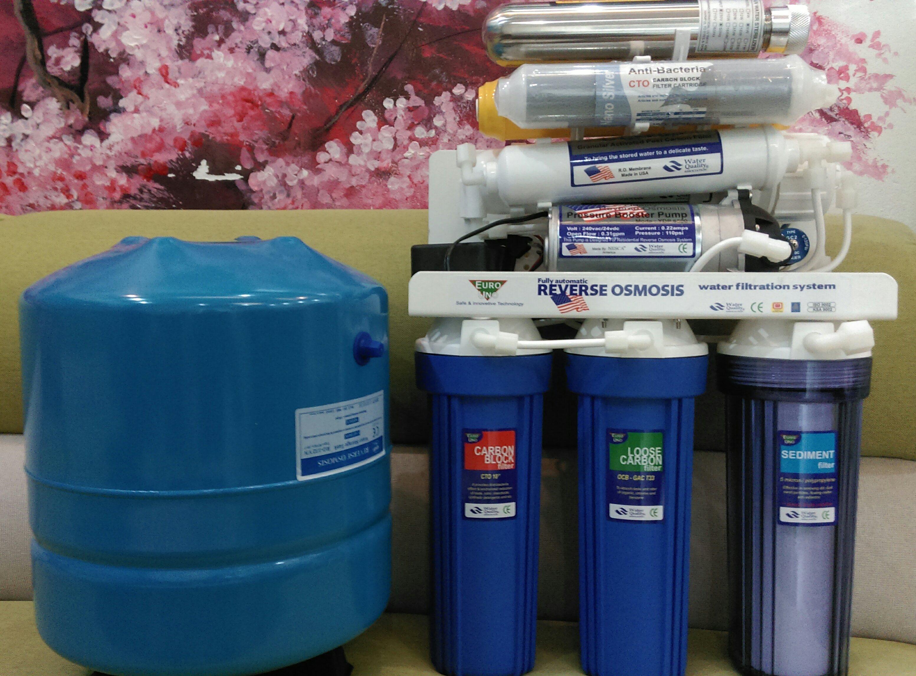 Máy lọc nước Ro gia đình 10L/h - 9 cấp lọc