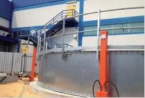 Bể chứa CST nhập khẩu sử dụng tấm vật liệu thép mạ kẽm 421M3