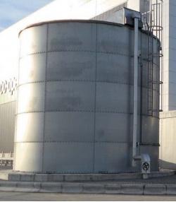 Bể chứa CST nhập khẩu sử dụng tấm vật liệu thép mạ kẽm 215M3