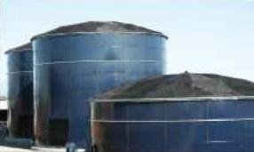 Bể chứa CST nhập khẩu sử dụng tấm thép phủ thuỷ tinh 310M3