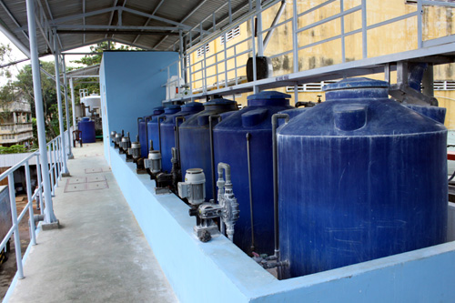Dịch vụ xử lý nước sạch gia đình
