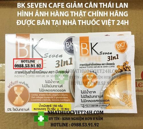 CAFE BK SEVEN NHẬP KHẨU CHÍNH HÃNG [BẬT ẨN]