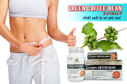 VIÊN GIẢM CÂN GREEN COFFEE BEAN USA