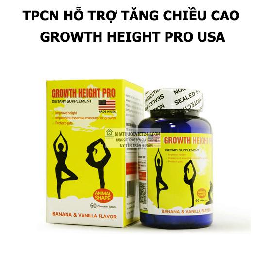 GROWTH HEIGHT PRO HỖ TRỢ TĂNG CHIỀU CAO