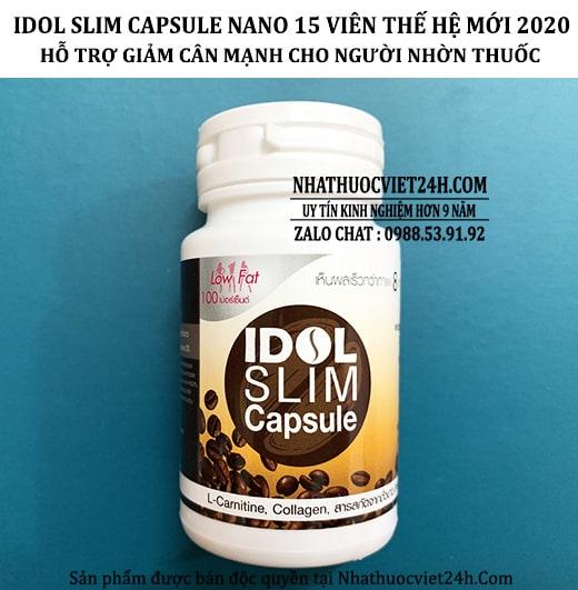 CAFE GIẢM CÂN IDOL SLIM THẾ HỆ MỚI NĂM 2020