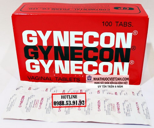 Viên Đặt Phụ Khoa Gynecon Thái Lan