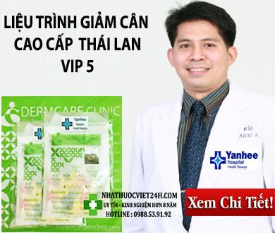 THUỐC GIẢM CÂN THÁI LAN LIỆU TRÌNH VIP 5 CAO CẤP