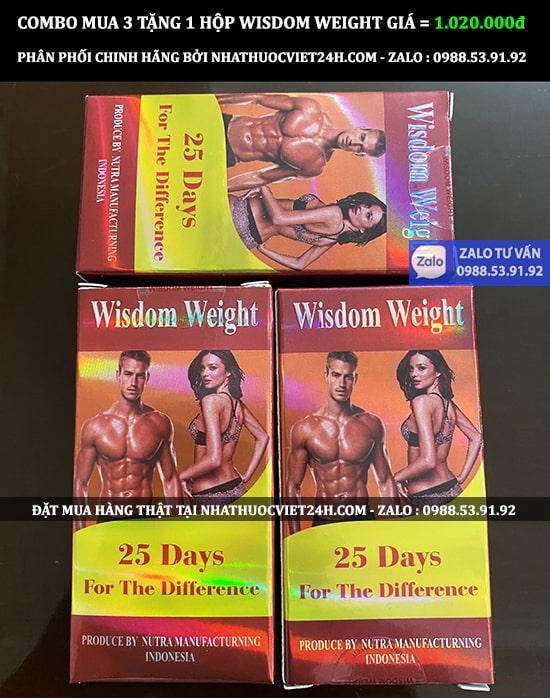 CÁCH PHÂN BIỆT THUỐC TĂNG CÂN WISDOM WEIGHT THẬT GIẢ CHÍNH XÁC 100%