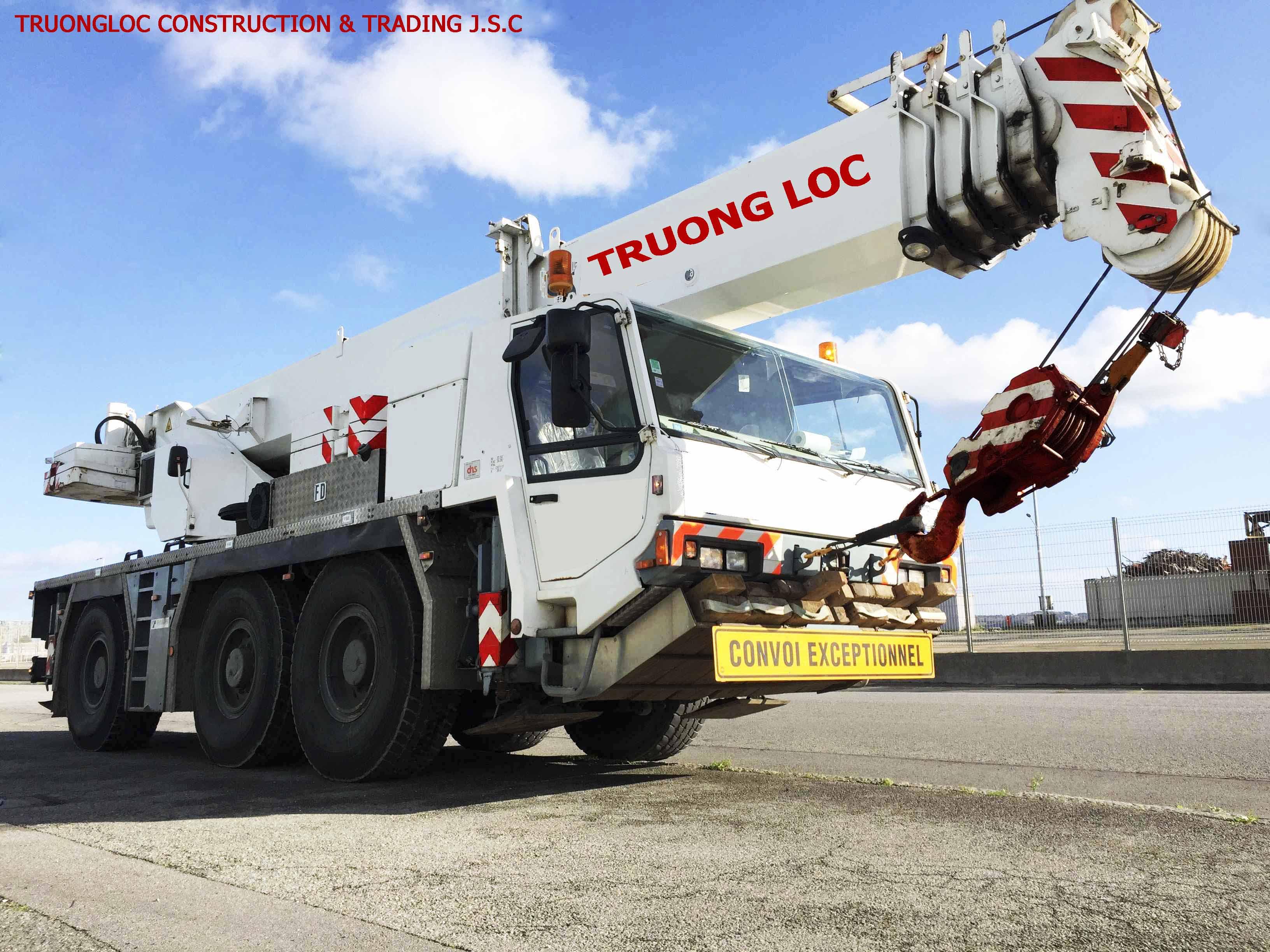 Tadano crane 50 tons